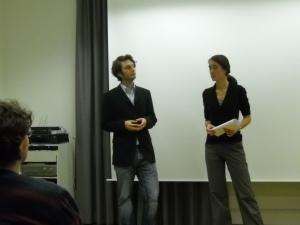 Dennis Romberg und Lena Bethmann