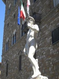 Davidstatue in Florenz