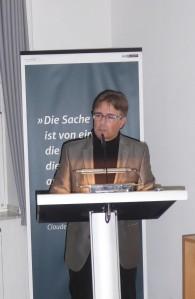 Dr. Othmar Plöckinger verteidigte die Kritische Edition