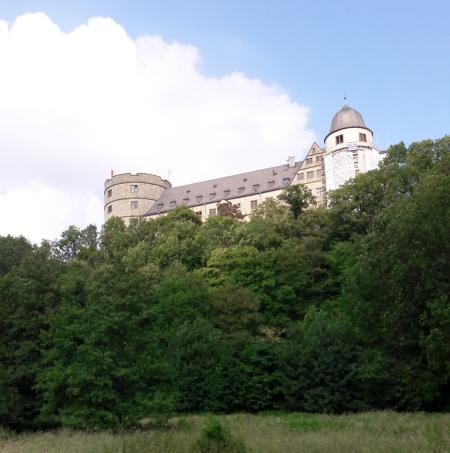Vor der Wewelsburg