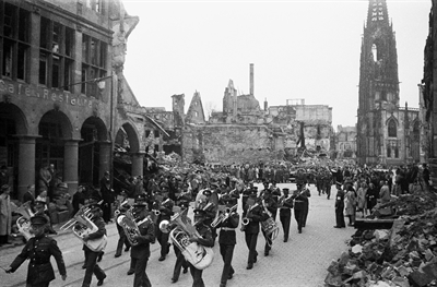 Parade in Münster